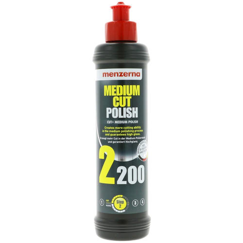 Menzerna Car Polish Medium Cut 2200 ,250 ml van Mernzerna