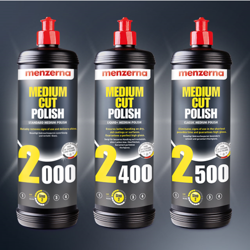 Menzerna Car Polish Medium Cut 2200  van Mernzerna