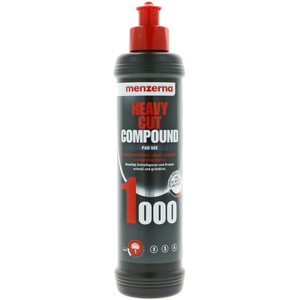 Menzerna Car Polish Heavy Cut Compound 1000, 250 ml