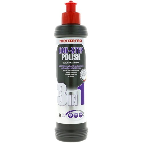 Menzerna Car Polish Medium Cut Polish eenstap 3 in 1 250 ml