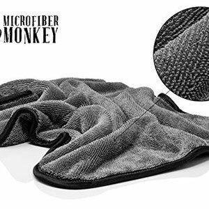 Microfiber Monkey Microfiber droogdoek 40x55 cm