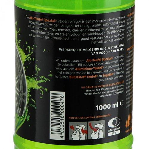 Tuga Chemie Velgen Reiniger van Alu Teufel 5L + wasemmer deksel en grit