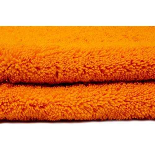Liquid Elements 2 X Droogdoek Microfiber Liquid Elements Orange Baby 800 gr/m2 60x90 cm