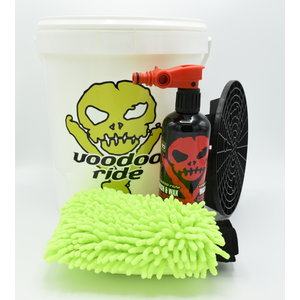 VooDoo Ride Autoshampoo Wash&Wax  pakket met gratis washmitt