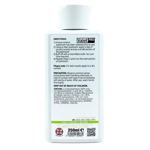 ValetPro Induglence cream wax Valet Pro