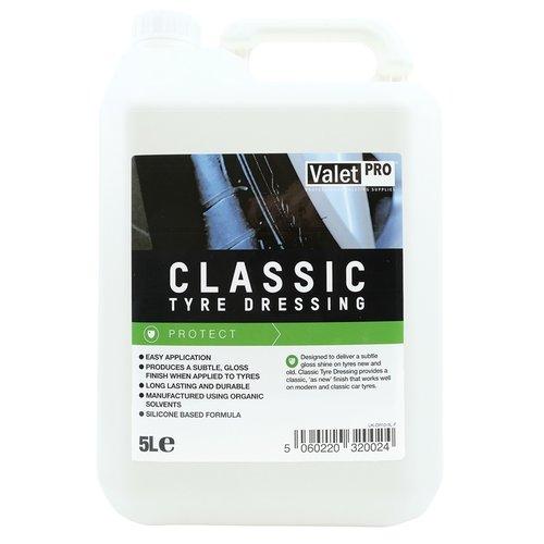 ValetPro Bandenglans /  Klassieke bandenglans / Classic Tyre Dressing
