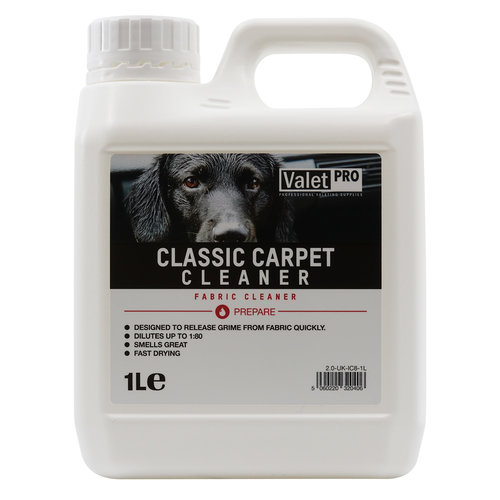 ValetPro Tapijt- en bekledingreiniger / Classic Carpet Cleaner