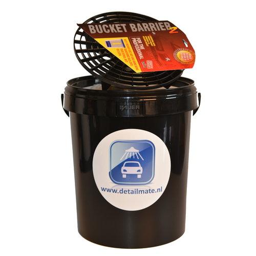 Axion Gratis Bij aankoop van € 39,- - Wasemmer met Deksel en Grit 15 liter  Black Friday