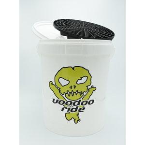 VooDoo Ride Gratis bij aankoop € 39,- Wasemmer met Deksel en Grit 15 liter Wir - Black-Friday