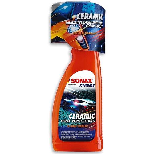Sonax SONAX XTREME keramische spray verzegeling (750 ml) tot 4 maanden langdurige bescherming tegen vuil, insecten en strooizout NIEUW!