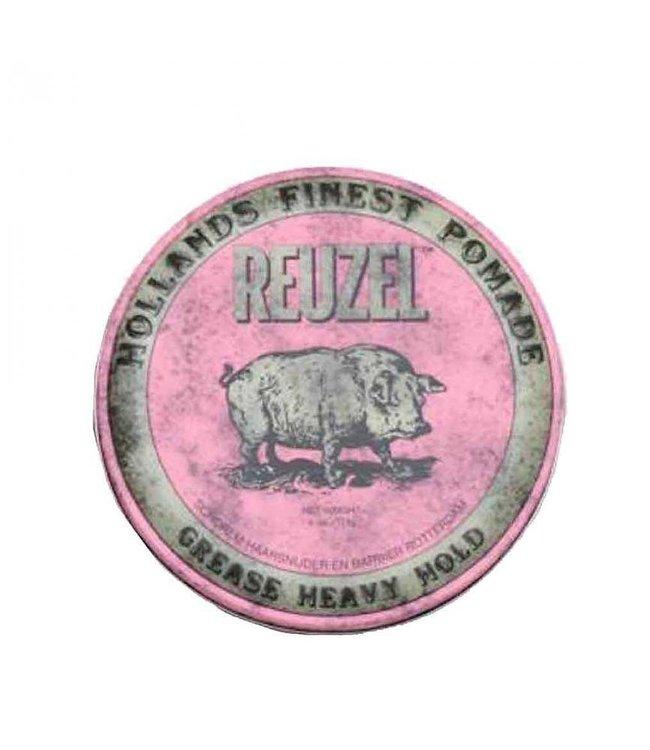 Reuzel Grease Heavy Hold Pomade (Pink) 113gr