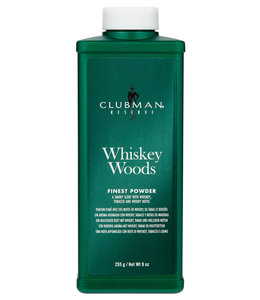 Ed. Pinaud Finest Talc Whiskey Woods