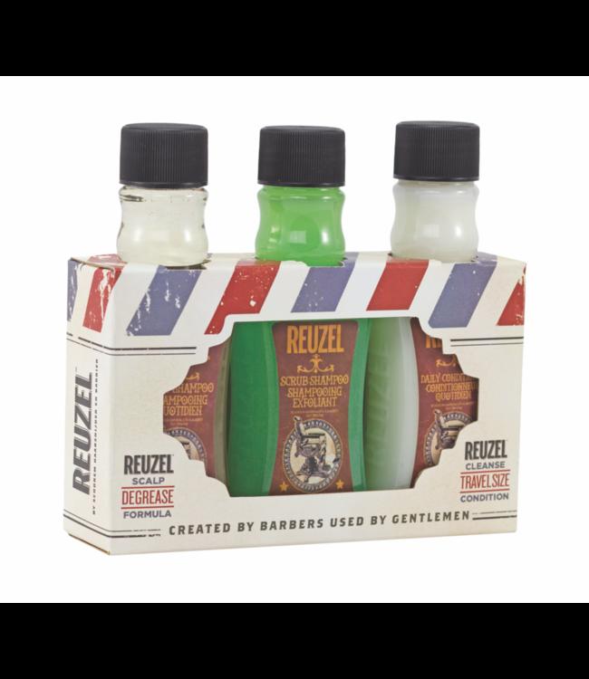 Reuzel Degrease Trio Kit Shampoo Travel Size