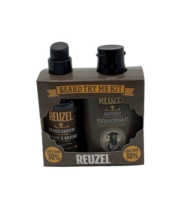 Reuzel Try Me Clean & Fresh Beard Kit