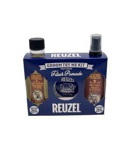Reuzel Groom Try Me Kit Fiber