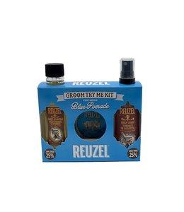 Reuzel Groom Try Me Kit Blue Pomade.