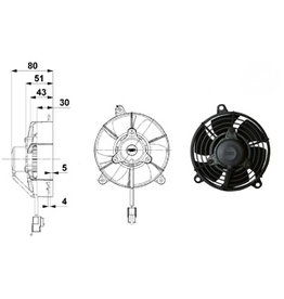 "Comex 5"" (130mm) Pusher/Blower"