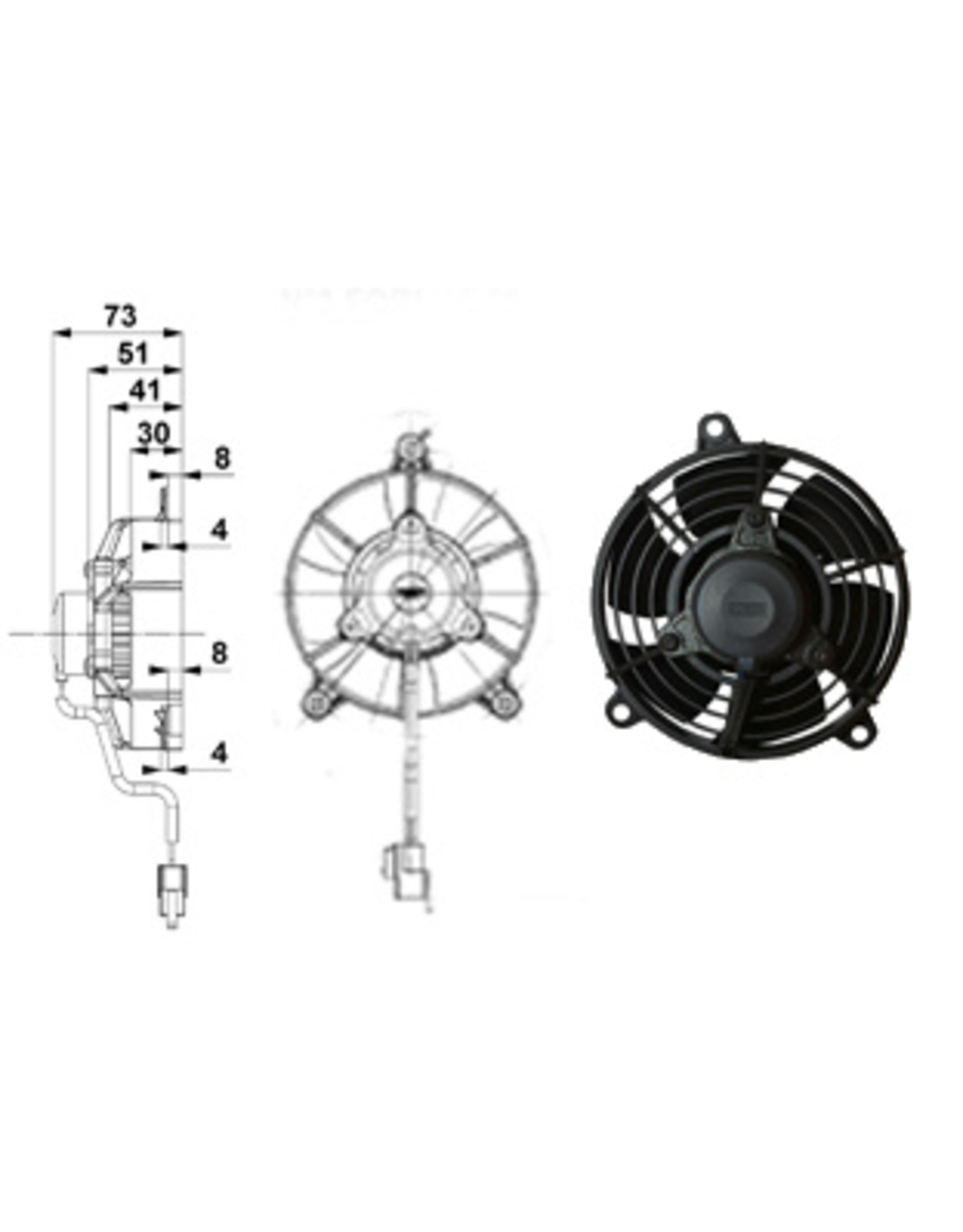 "Comex 4.7"" (120mm) Pusher/Blower"