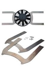 """Comex  Aluminium Universal Fan Brackets for 7.5"""" (190mm) Fan"""