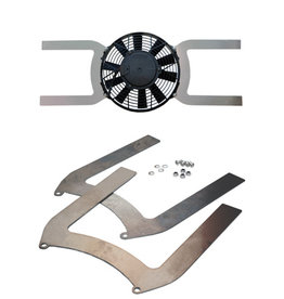 "Comex Aluminium Universal Fan Brackets for 7.5"" (190mm) Fan"
