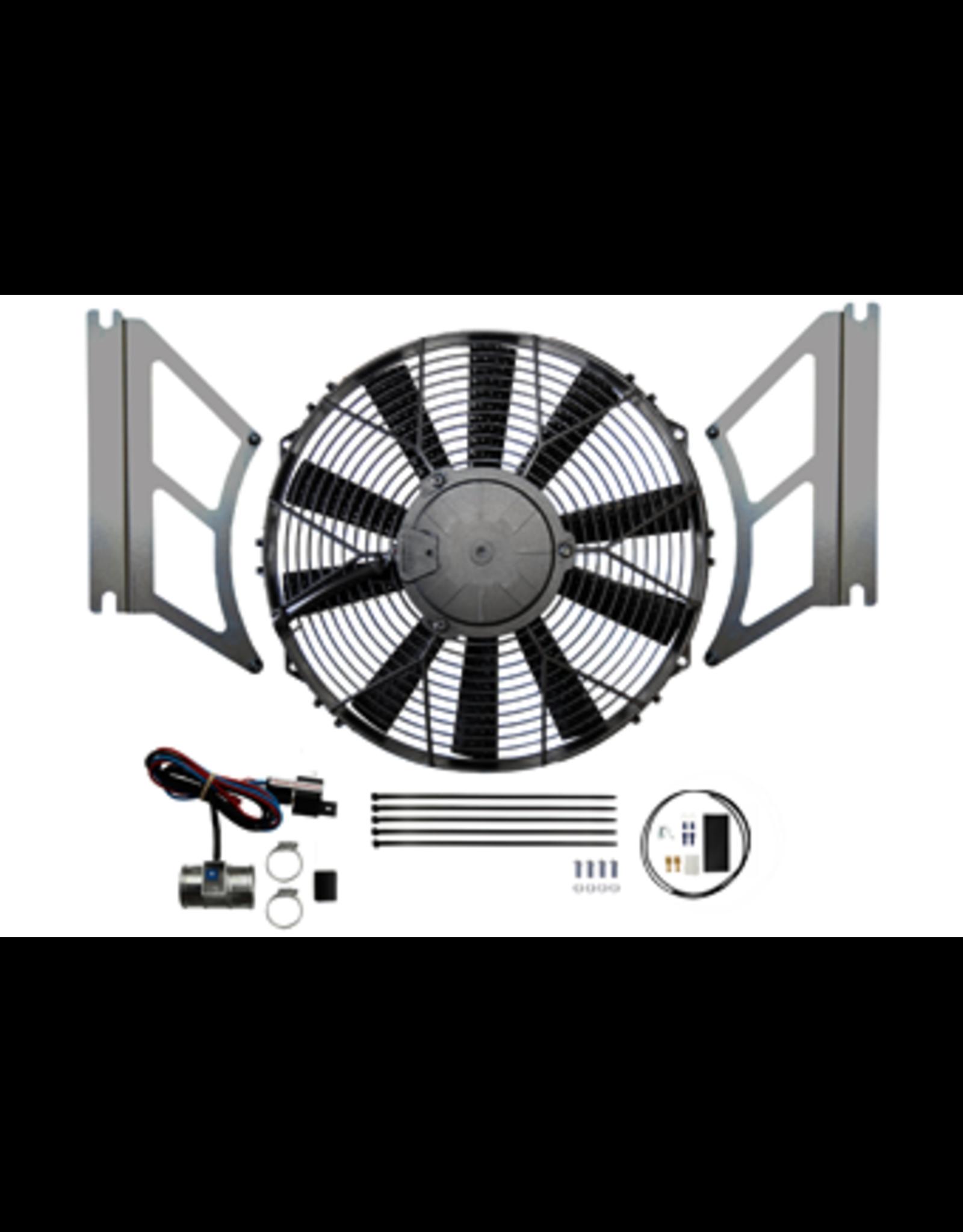 Revotec MGB 1976-80 Cooling Kit Blowing Fan