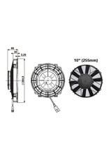 "Comex 10"" (255mm) Puller/Sucker Ventilator"