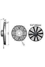 """Comex 15.2"""" (385mm) Puller/Sucker - Very High Power Fan"""