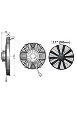 "Comex 15.2"" (385mm) Pusher/Blower - Very High Power Fan"