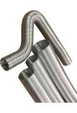 Revotec Flexible Aluminium Luchtslang, 1 meter.