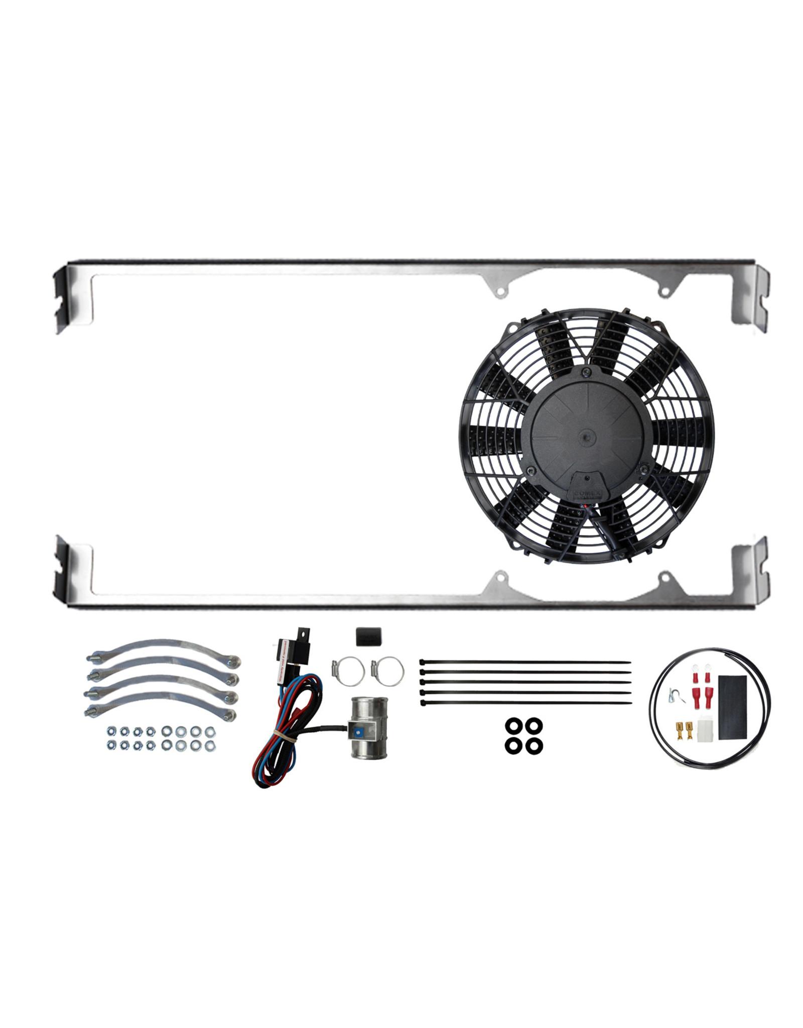 Revotec Morris Minor Cooling Fan Kit Positive Earth