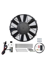 Revotec MG Midget / Healey Sprite Vertical Flow Radiator Cooling Fan Kit
