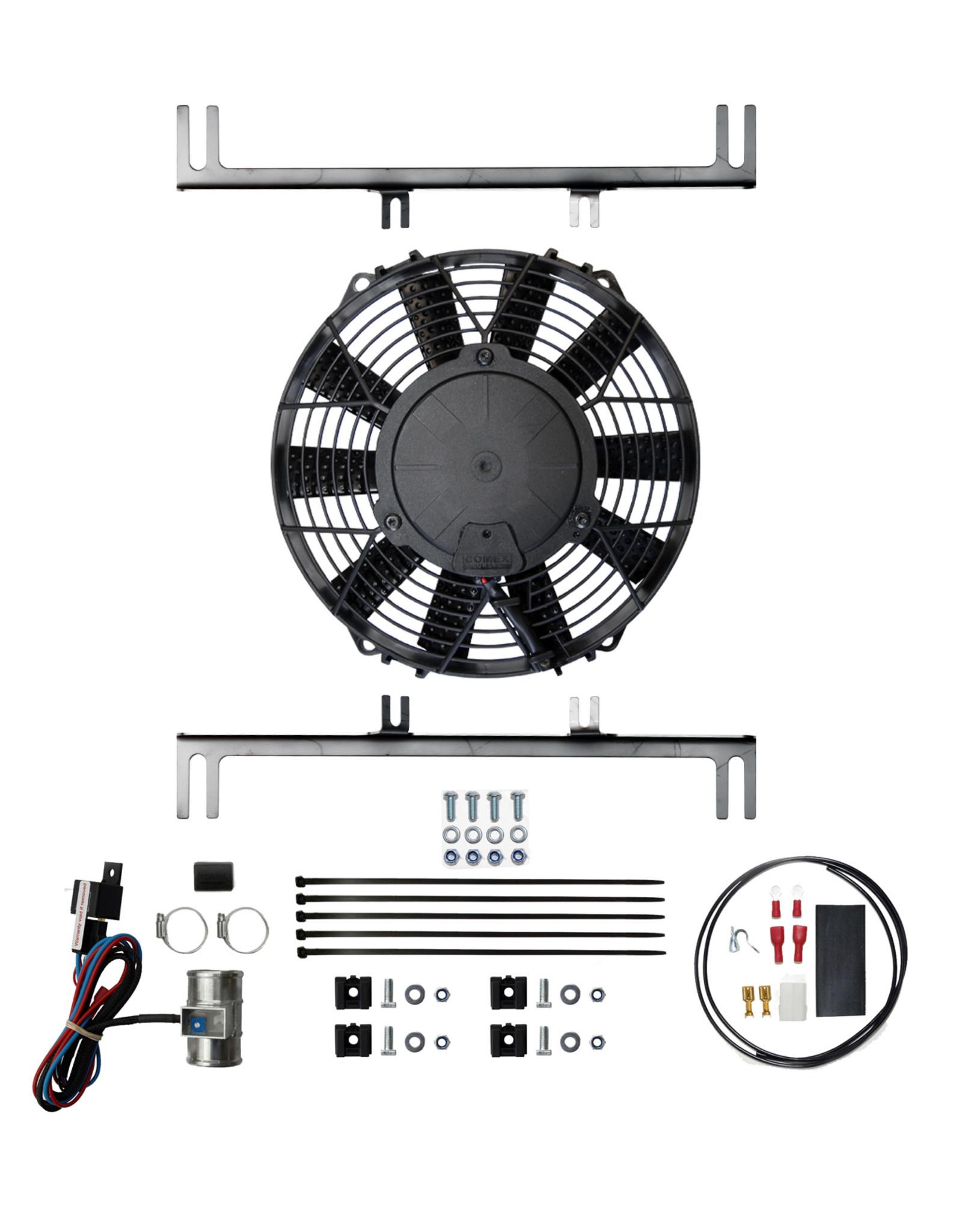 Revotec MG Midget 1500cc Cooling Fan Kit