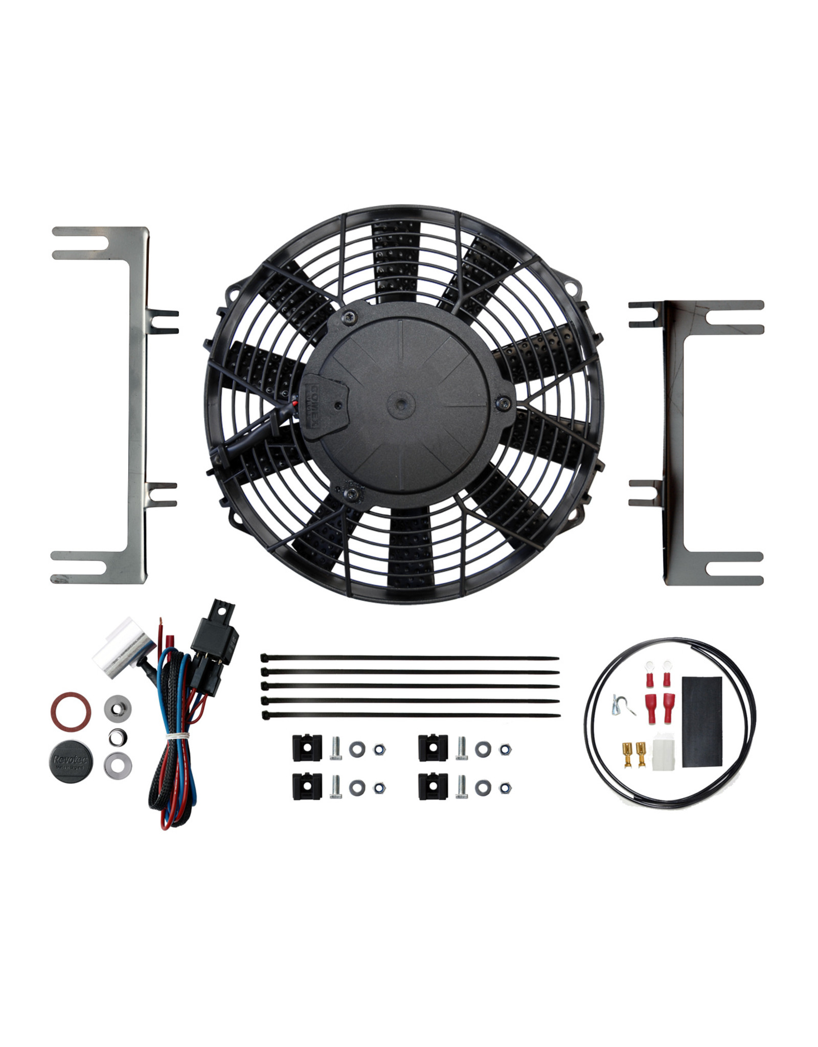 Revotec Mini Classic (Side Mounted Radiator) Cooling Fan Kit