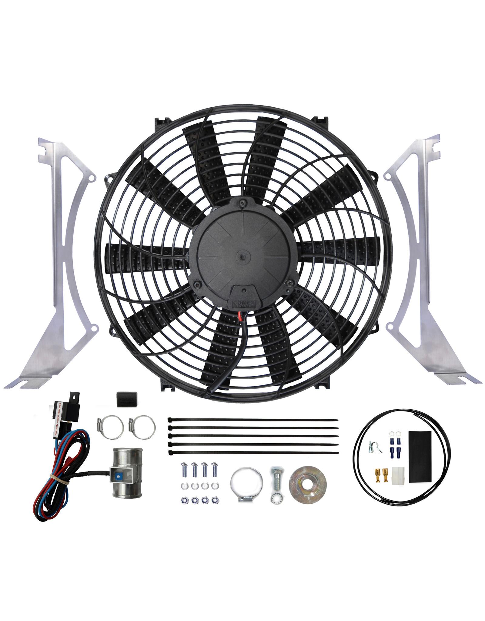 Revotec Triumph TR250, TR5 & 6 Suction Cooling Fan Kit