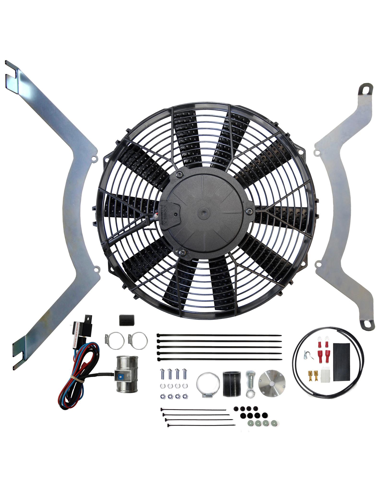 Revotec Triumph TR2, 3 & 4 Positive Earth Cooling Fan Kit