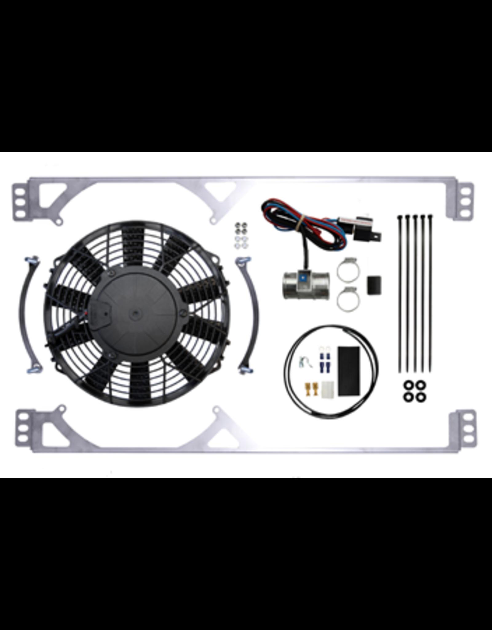 Revotec Triumph Herald Positive Earth Cooling Fan Kit