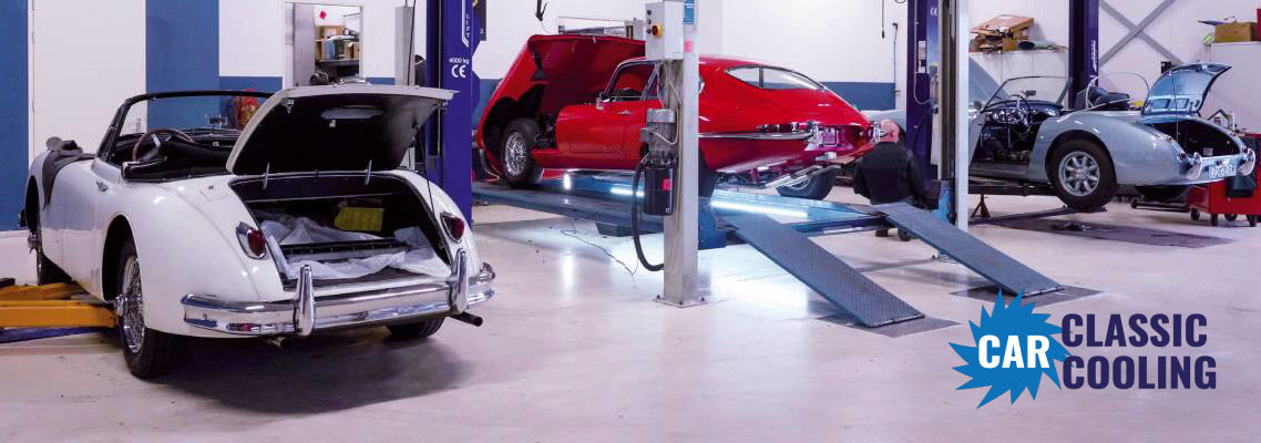Classic Car Cooling Werktplaats