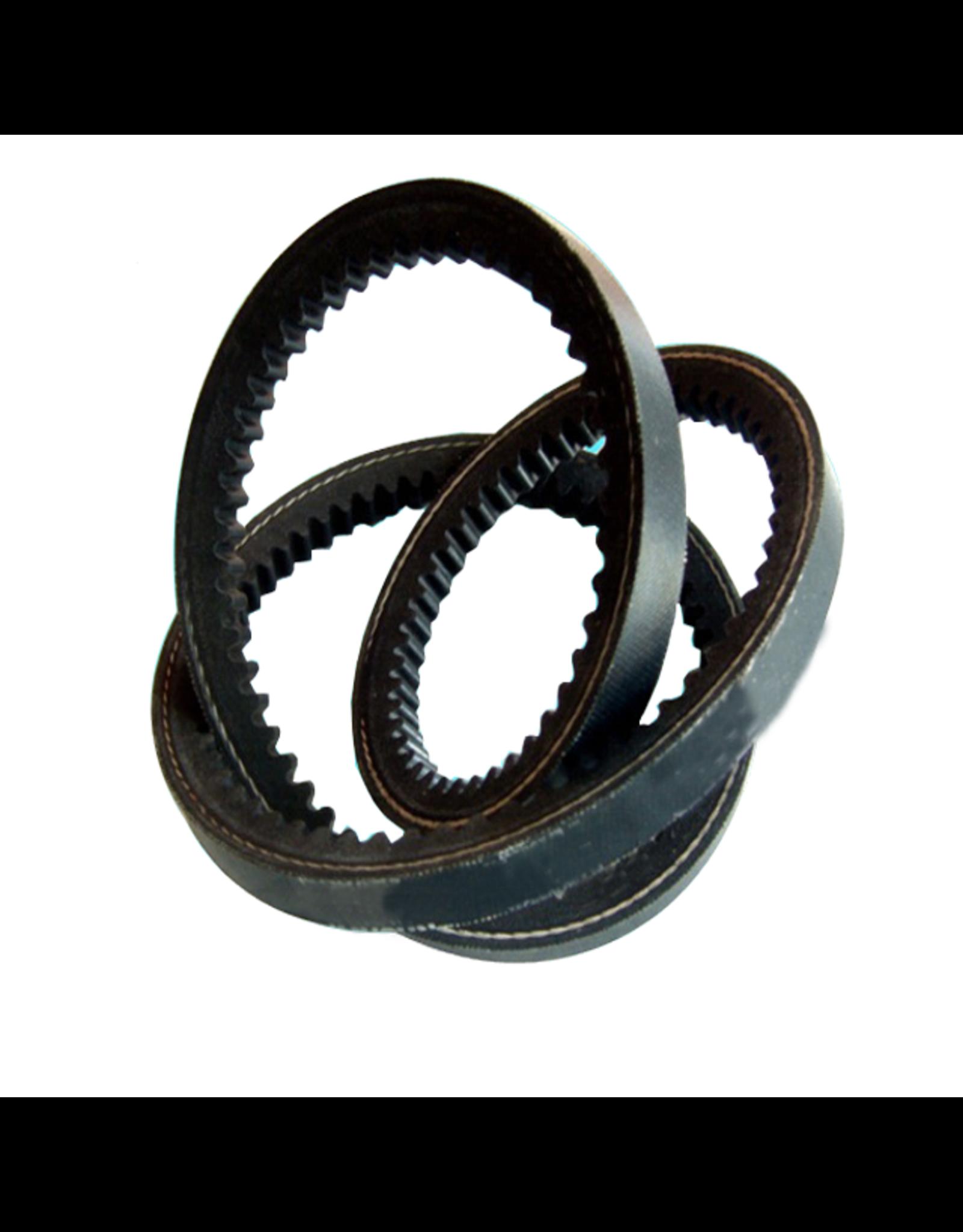 V-belt, toothed