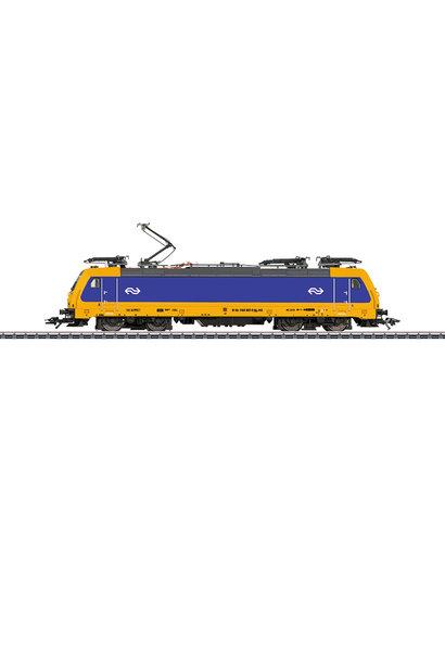 36629 elektrische locomotief BR186 Traxx van de NS