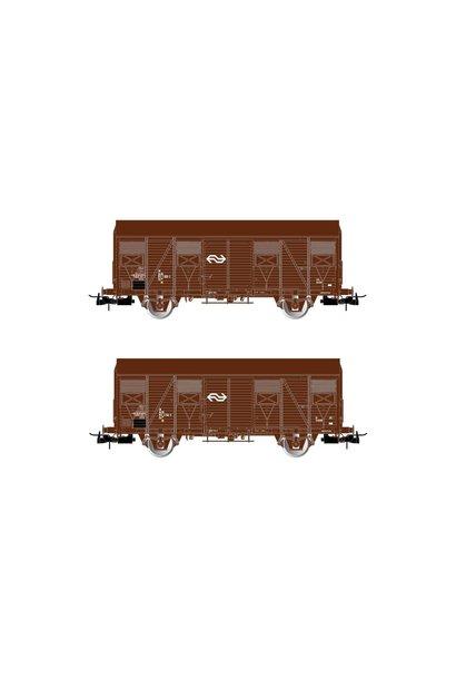 HR6430 Set geslotengoederenwagens