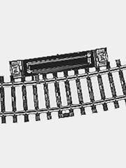 Märklin 2239 Schaltgleis r424,6mm,15 Gr.