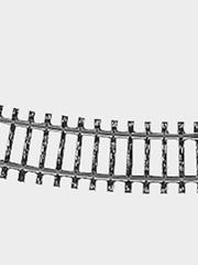 Märklin 2223 Gleis geb.r360 mm,15 Gr.