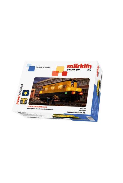 44737 Bausteinwagen mit Lichtbauste