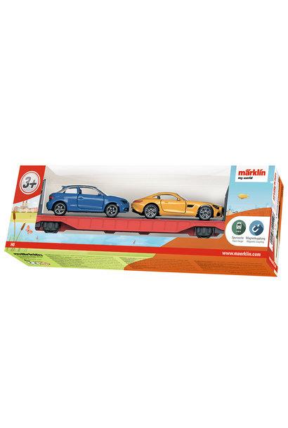44110 Autotransportwagen(my world)