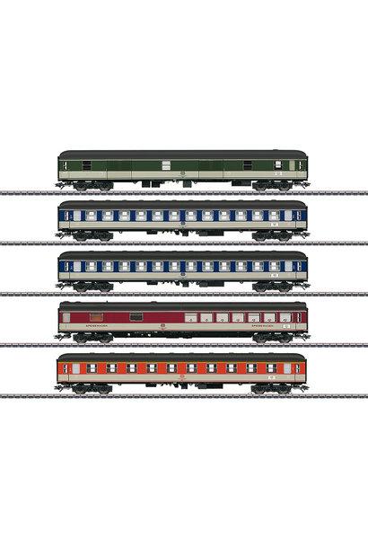 43917 Schnellzugwagen-Set Pop-Farbe