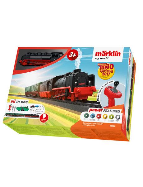 Märklin 29308 Startset landbouw met stoomlocomotief