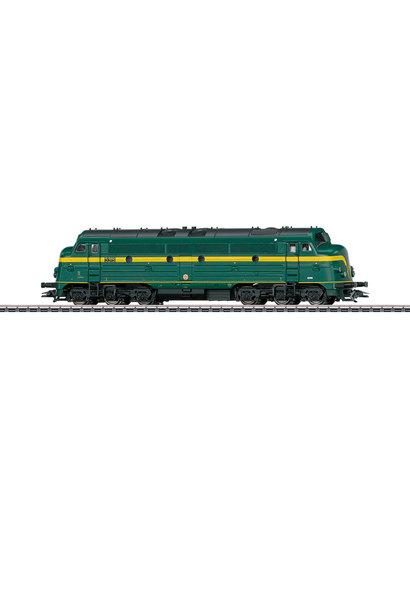 39678 Dieselloc Serie 5317 NOHAB van de Belgische Spoorwegen