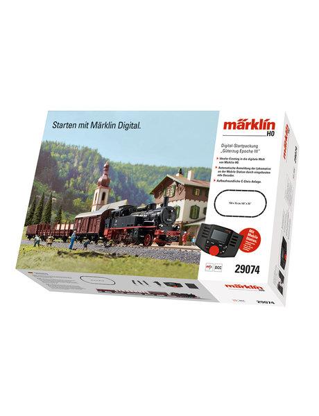 Märklin 29074 Digitale startset Mobile Station ''BR74 met goederentrein''