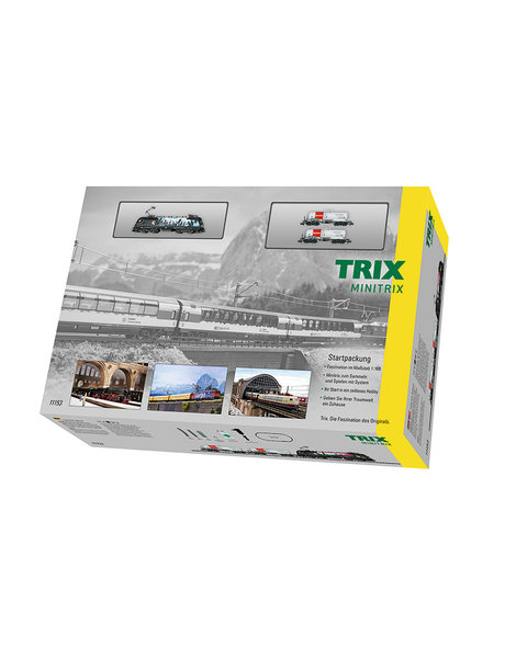 """Trix 11153 Startset minitrix """"goederentrein"""""""