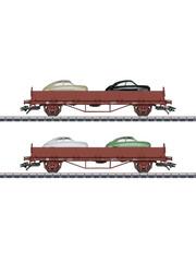 Märklin 45084 Autotransportwagen-Set Saab 9